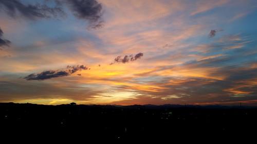 sunset mountains colorado rocky views