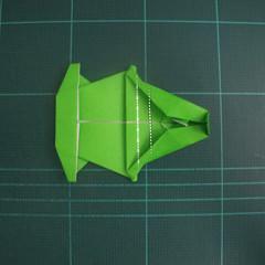 การพับกระดาษเป็นรูปแรด (Origami Rhino) 027