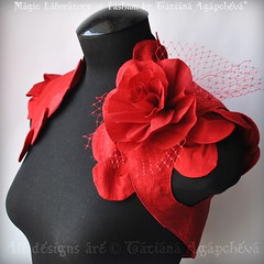 #wedding #etsy #etsywedding #bolero #shrug #jacket #rose #petals #red #handmade #valentine #christmas #gift #wrap #marriage #bride #brooch #beautiful #floral #love #romance #tianache #tianache.etsy #fashion #designer #creative #craft #studio #atelier #wed