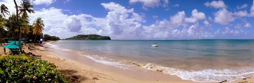 sky beach clouds strand hotel himmel wolken resort ciel caribbean nuages plage stlucia rendezvous westindies