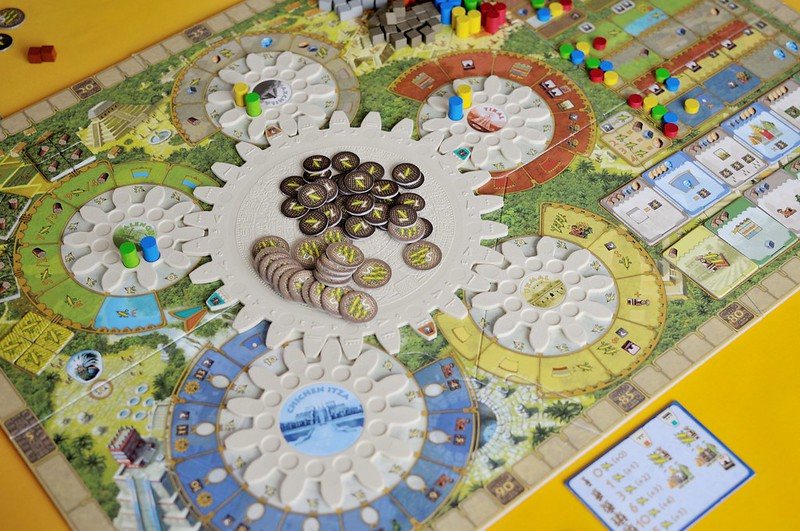 Top 10 Strategy Board Games for Adults Tzolk'in Cogs