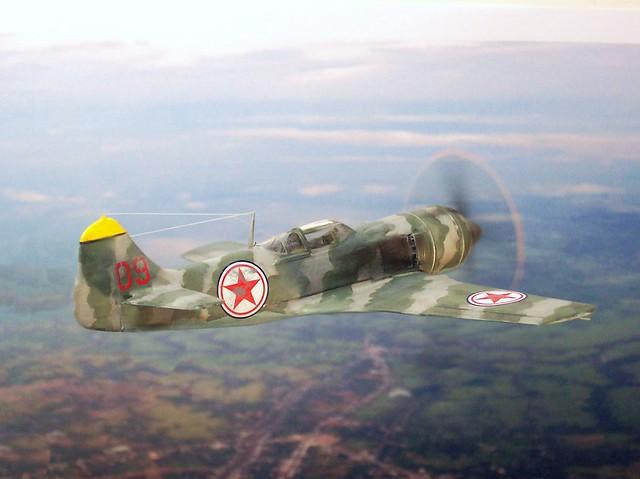 1:72 Lavochkin La-7bis (ASCC code 'Flake'); aircraft