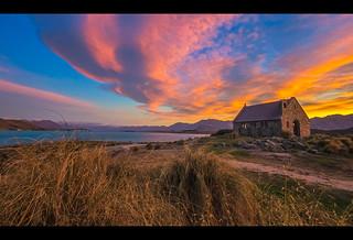 Sunrise at Church of the Good Shepherd | by ozarun55
