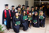 ​Twenty students graduated with master's in library and information science from UH Manoa on May 14, 2016.  Photo by Andrew Wertheimer