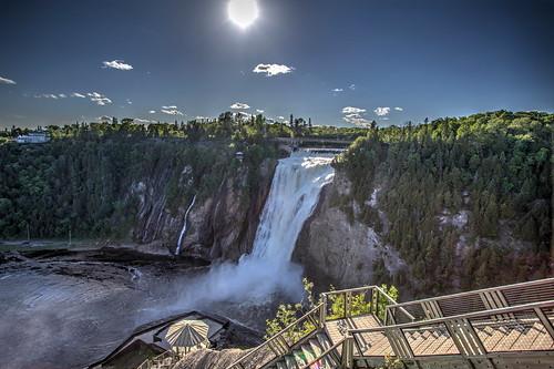 hdr montmorency falls cascada catarata quebec canada cano eos markii josémarboledac ruby10 ruby15 ef1740mmf4lusm 5d