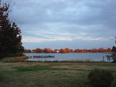 Fall scene on Spencer Creek