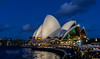 Opera House, Blue Hour, Sydney, New South Wales, Australia