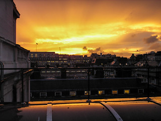 Sunset from the Main Building