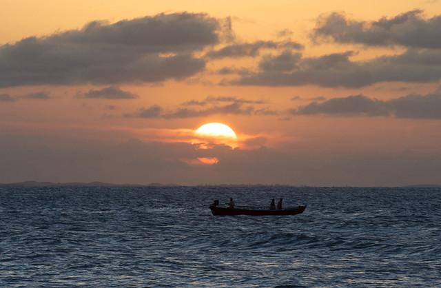 Pôr do sol em Jericoacoara - CE