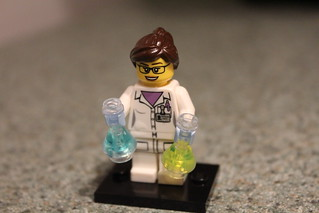 Scientist Mini-firgure   by John Morrissette