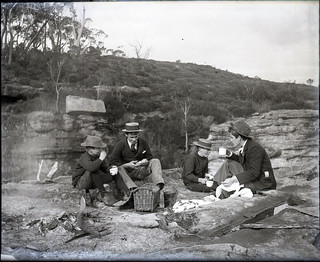 Four Boys on a Picnic | by Blue Mountains Library, Local Studies