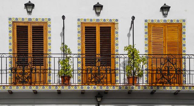 Balcón en el Puig de Santamaría