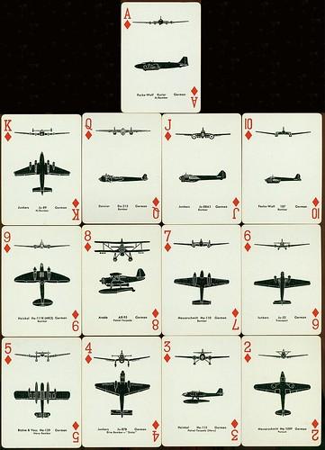 Spotter Cards Aviones alemanes
