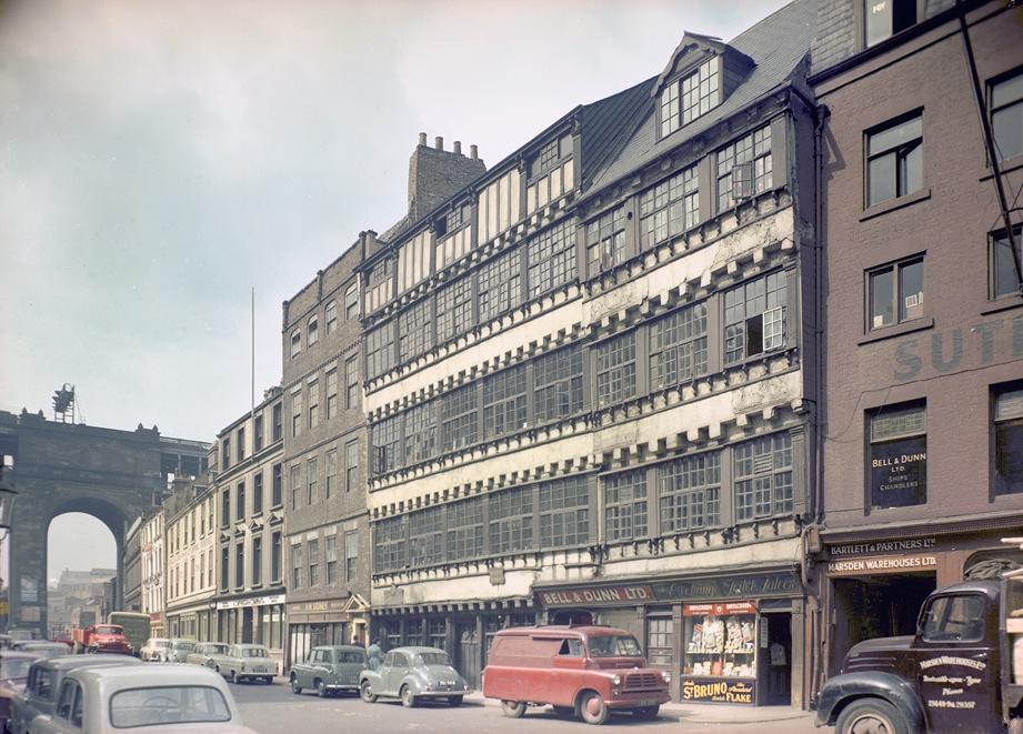 Bessie Surtees House, Newcastle, 1958