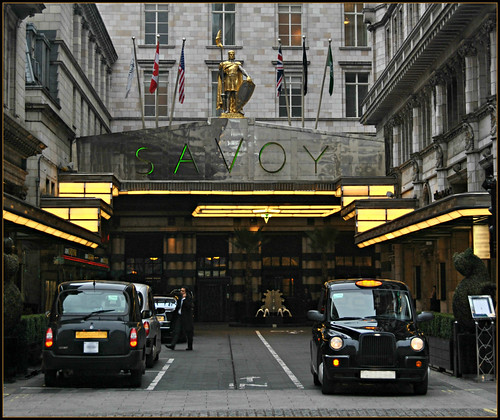 Savoy Court in Strand London..