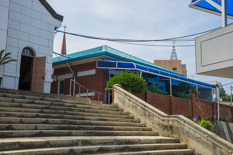 Bukgyodong Catholic Church, Mokpo, South Korea
