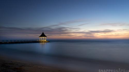 ocean longexposure sunset beach sand jamaica montegobay halfmoonresort