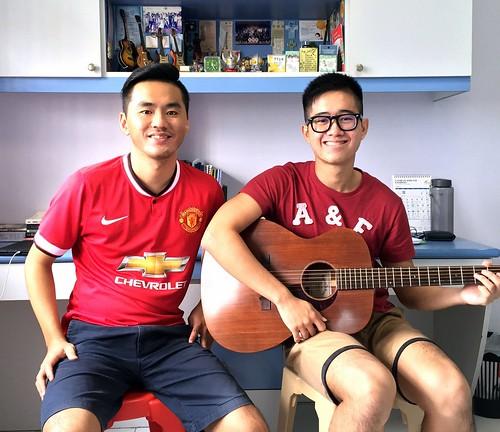 Beginner guitar lessons Singapore Wei Boon