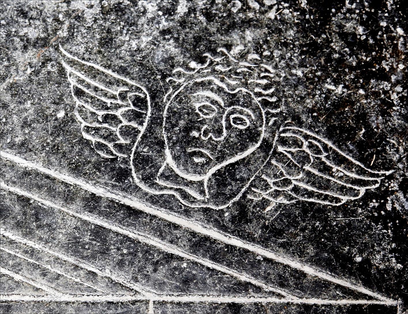 21. Discover medieval graffiti