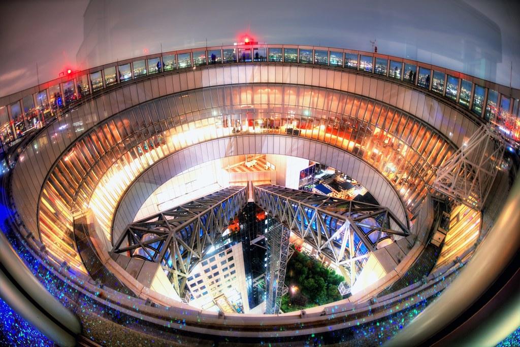 Sky Garden Walk: Osaka Night #8 - Lumi Sky Walk