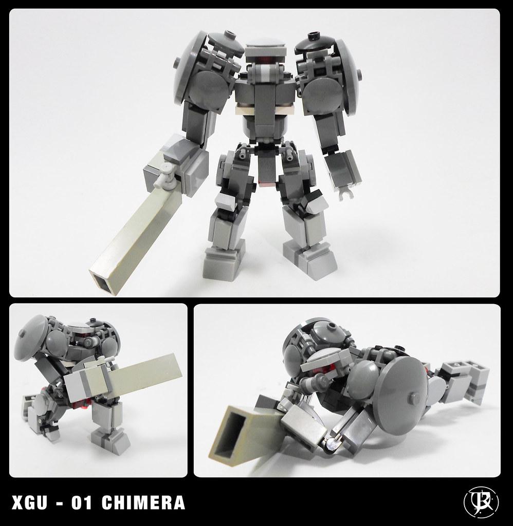 XGU(experimental ground unit ) - 01 Chimera   the Chimera is