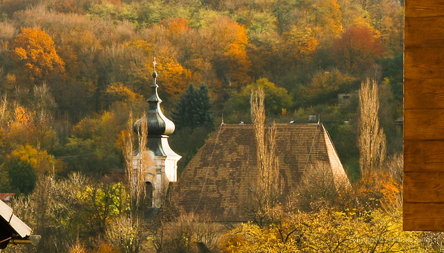 Old Church Roof Autumn, Dubravka