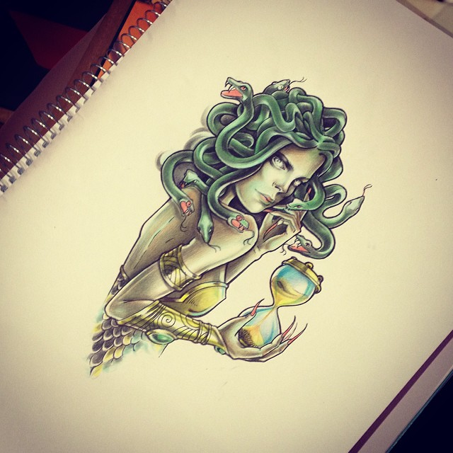 Medusa Gorgona Medusa Tattoo Design For Claudia I M Halfw