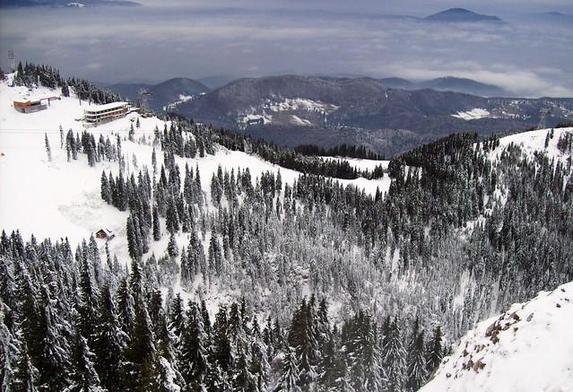 Postavaru Peak, Poiana Brasov, Romania