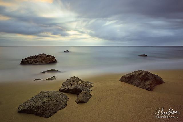 Peaceful coast