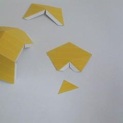 วิธีทำของเล่นโมเดลกระดาษ วูฟเวอรีน (Chibi Wolverine Papercraft Model) 008