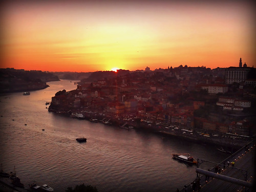 warm_sunset, Porto