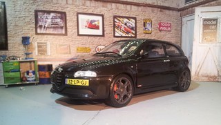 Alfa Romeo 147 GTA 1:18   by www.MODELCARWORKSHOP.nl