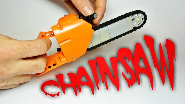 Lego Technic Chainsaw (MOC)