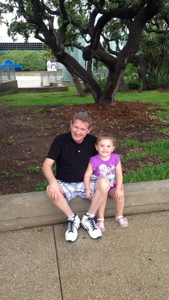 Papa and Lillian