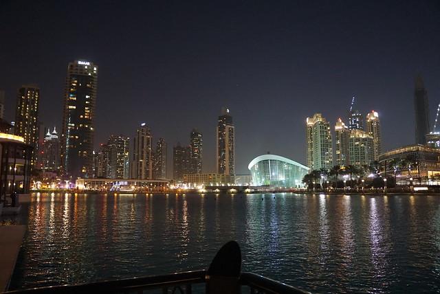Nightime Dubai
