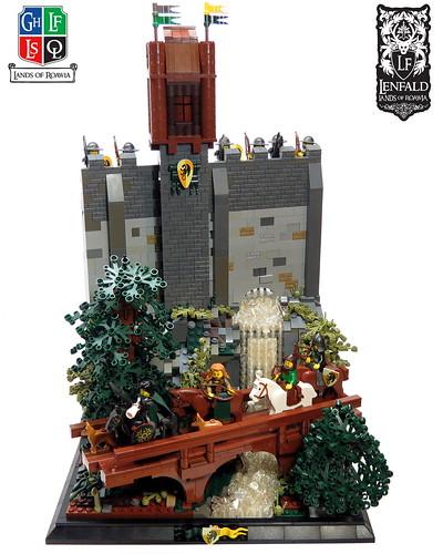 LoR -LC 23- The Walls of Stoneborough | by Kingdomviewbricks