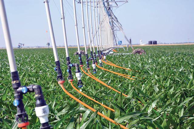 Mobile drip irrigation