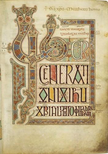 Trinity College Library - Book of Kells   by larrywkoester