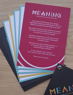 Meaning 2014 - Lanyard welcome page | by Meaning conference