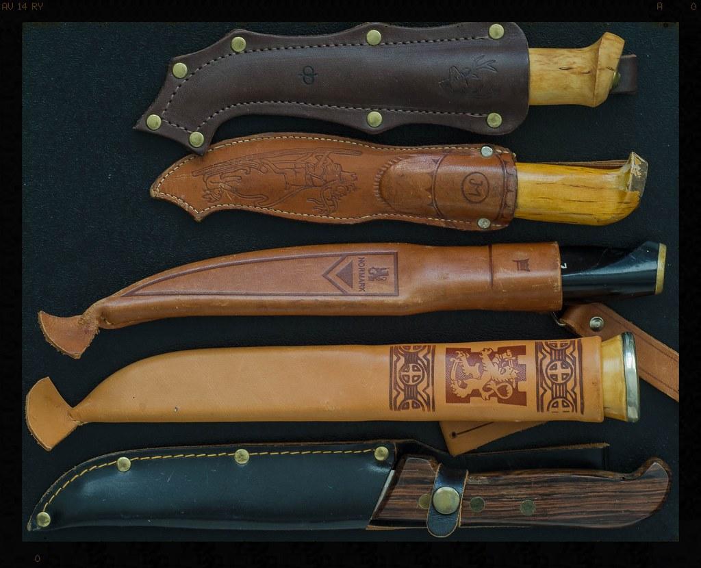 Traditional Finnish hunting knives | Frank | Flickr