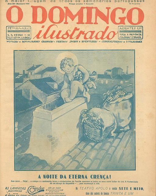 Capa de jornal antigo | old newspaper cover | edição de Natal | Christmas edition | 1927