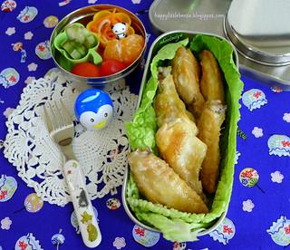 Tebasaki Chicken Wings Bento   by sherimiya ♥