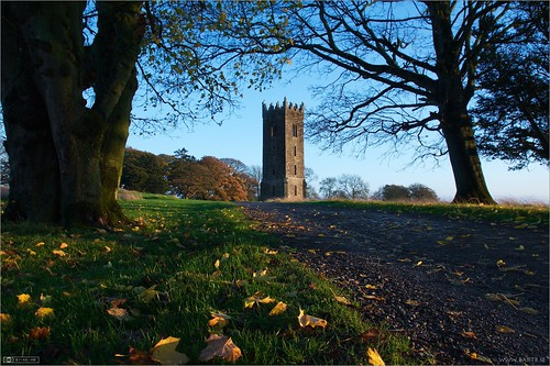 autumn ireland tower evening maynooth pathway kildare localhistory historicbuilding cartonestate