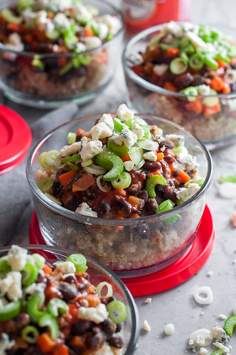 Meatless buffalo bowl meal prep | by tessascotolson