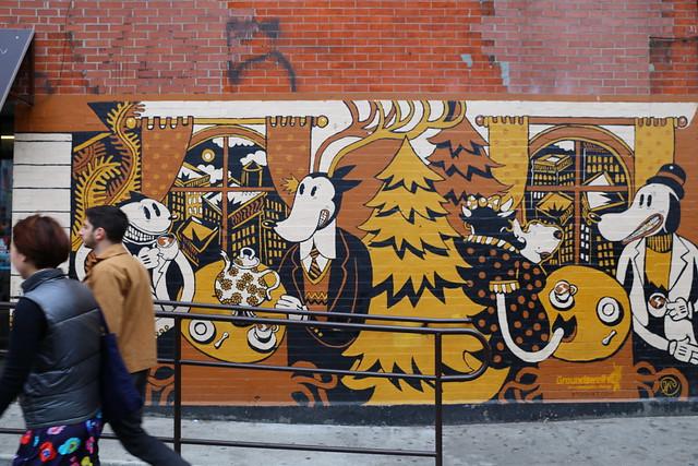 Street Art in Williamsburg Brooklyn New York