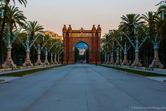 Arc The Triomf, Barcelona, Spain