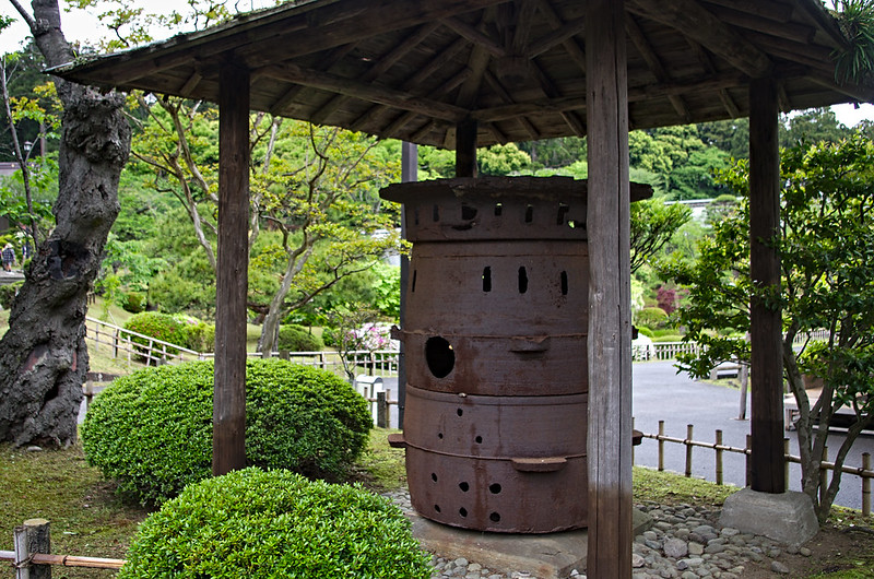Marmitte au sanctuaire Shiwahiko