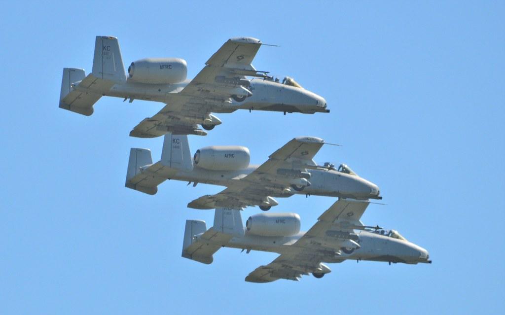 A10 (16) @ RAF Leeming 19-07-16
