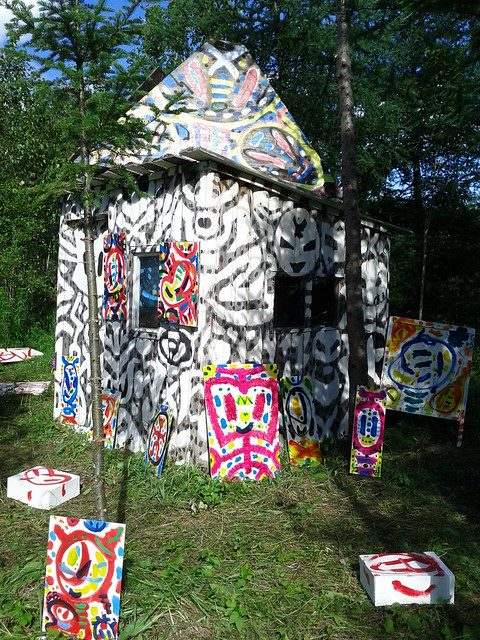 La cabane du peintre