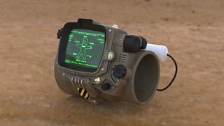 Pip-Boy 3000 Mk4, Render, Front | by ZapWizard